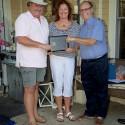 Bruce MacKinley receives Rotary International Spouse/Partner Service Award
