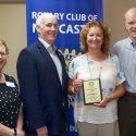 Geri Mahoney Awarded Rotarian of the Year!